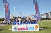 「楽しんで勝ちたい!」…丸亀城東サッカー少年団が香川県勢対決を制して、EXILE CUP四国大会初優勝!
