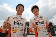 全日本F3オートポリス:好調坪井がダブルポール獲得。宮田が続きトムスのワン・ツー