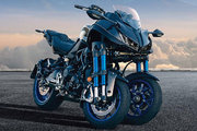ヤマハ、大型3輪バイクのNIKENを受注生産で発売。9月13日から予約開始