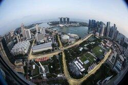 画像:FIA、F1シンガポールGPでトラックリミットを厳しく規制