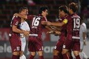 神戸が2発快勝で札幌の3連勝を阻止…田中順也が加入後リーグ戦初ゴール