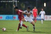 田中脩史が2試合連続ゴール、アルビ新潟Sは上位決戦でドロー