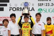 2017年全日本F3チャンピオン獲得の高星明誠「まだチャンピオンの実感がない」