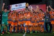 試合後に表彰式開催、アルビレックス新潟シンガポールがSPL初代王者に