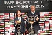 国内組で臨むE-1サッカー選手権が12月に開催…ハリル「W杯に残る選手の見極め」