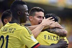 画像:混戦のW杯南米予選…3位コロンビアがメンバーを発表 ハメスら順当に選出