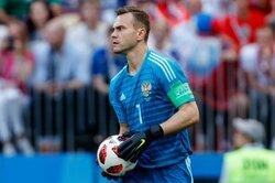 画像:主将として自国開催のW杯出場…GKアキンフェエフ、ロシア代表引退を表明