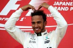 画像:F1日本GP決勝:ハミルトンが優勝、ベッテルは無念のリタイア。マクラーレン・ホンダはノーポイント