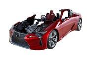 ジェイテクト、東京モーターショー出展概要発表。『LC500』カットモデルの展示も