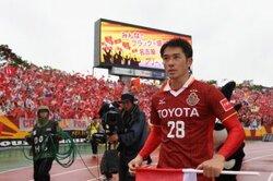 画像:1G1Aで首位撃破の立役者に! 名古屋FW玉田圭司「サッカーを楽しめるように」