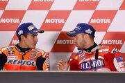 ドビジオーゾ「ブレーキングでマルケスよりアドバンテージがあった」/MotoGP日本GP決勝会見