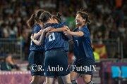 【ユース五輪】U−18フットサル女子日本代表の銀メダル以上が確定! 強豪スペインを破り決勝進出