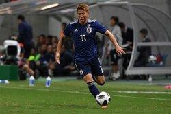 約1年ぶりに日本代表復帰の浅野が3点目…「チームの勝利にゴールで貢献できたことが素直にうれしい」