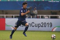 画像:「勝負を決める選手に」…田川亨介、今大会初得点は「次につながる」/AFC U−19選手権
