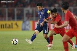 画像:「嫌われてもいい」…インドネシアで光る齊藤未月の強烈なキャプテンシー/AFC U−19選手権