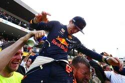 """画像:【F1メキシコGP無線レビュー】圧倒的速さで""""気持ち良く""""勝利を飾ったフェルスタッペン"""
