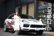 元レースクイーンでレース参戦経験者、安藤麻貴のポルシェ・カイエンクーペ試乗レポート