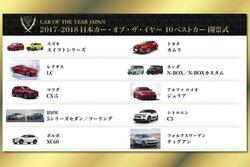 """画像:『スイフト』『LC』など選出。日本カー・オブ・ザ・イヤー""""10ベストカー""""発表"""
