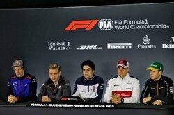 画像:主役のいない記者会見、質疑応答もたった一人だけ....../F1ブラジルGP木曜会見