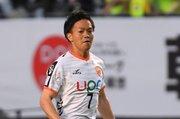 山口、FW大崎淳矢の第一子誕生を発表「サッカーと同時に育児も全力で」