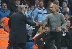 画像:ペップ、モウリーニョ監督の手腕を称賛「タフな時間に対応できる」