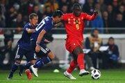 日本、粘りの守備もFIFAランク5位ベルギーに惜敗…ルカクの一発に沈む