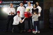 WRC:ラトバラ、ラッピ、マキネンがシーズン報告会で日本凱旋。2018年の飛躍を誓う