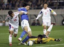 画像:【E−1選手権前に振り返る】日本代表、北朝鮮との激闘の歴史