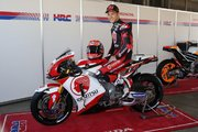 ホンダサンクスデーで中上貴晶の2018年MotoGPマシンカラーリングがお披露目