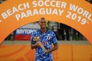 茂怜羅オズ、ビーチサッカーW杯でMVPを受賞…日本代表は過去最高の4位