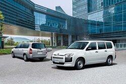 『トヨタ・プロボックス』系にハイブリッド・モデルを追加。先進安全装備も強化