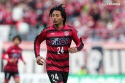 画像:岡山、今季10得点のFW赤嶺真吾と契約更新…今年7月には月間MVP受賞