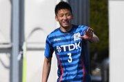 秋田が山形から韓浩康を完全移籍で獲得…16年夏よりレンタル加入の24歳