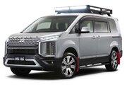 新型『デリカD:5』など3車種をカスタム。ミツビシ、東京オートサロンでオンロードスポーティを提案