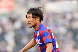 画像:甲府、MF曽根田穣と契約更新を発表…びわこ大から今季加入の23歳