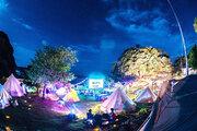 無人島でDIY 野外シネマフェス!「MUJINTO cinema CAMP」関西と瀬戸内で開催