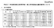 【高校受験2019】鳥取県立高入試、一般選抜の志願状況・倍率(2/25時点)米子東(生命科学)1.60倍
