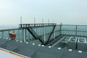地上300mから、大阪上空に身を乗り出して... あべのハルカスで「EDGE THE HARUKAS」を体験してきた