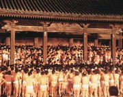 世界が注目する「Naked Festival」  岡山県西大寺のはだか祭り、各国テレビ局も続々取材に