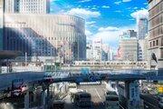 梅田の街から人が消えた...?→イラストでした 制作期間1か月!リアルすぎる風景画に反響