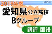 【高校受験2019】愛知県公立高入試・Bグループ<国語>講評…論説文と小説1題ずつの出題