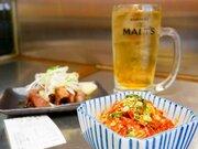東京センベロ巡礼! 神田の大衆酒場『つみき』で、絶品「ガツキムチ」を食べてきた