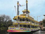 【ディズニー】蒸気船マークトウェイン号が35周年仕様で再出航!