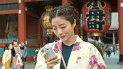 石原さとみ、浅草で瓦割り! 春ムードな服装も注目「Find my Tokyo.」新CM