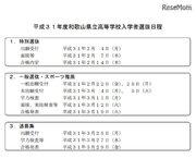 【高校受験2019】和歌山県公立高入試、一般入試日程は3/11・特別選抜は2/7