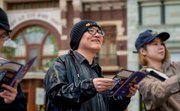 【USJ】原作者・青山剛昌がコナンの世界を満喫「すっかり騙された!」