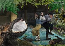 画像:オオサンショウウオの生態の謎に迫る「京都水族館ぬめぬめワールド」4/27-9/1