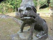 なんだかシュールな「ブサカワ狛犬」に注目 なぜこんな顔に?神社に聞いてみると...