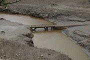 60年前、湖の底に沈んだ「幻の村」 愛知・宇連ダム枯渇で再び姿を現す