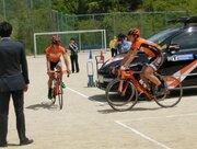 自転車事故は10代が多い!プロが安全教室で中学生に乗り方指導